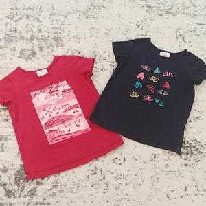2pc Bundle HANNA ANDERSSON Graphic T-Shirts